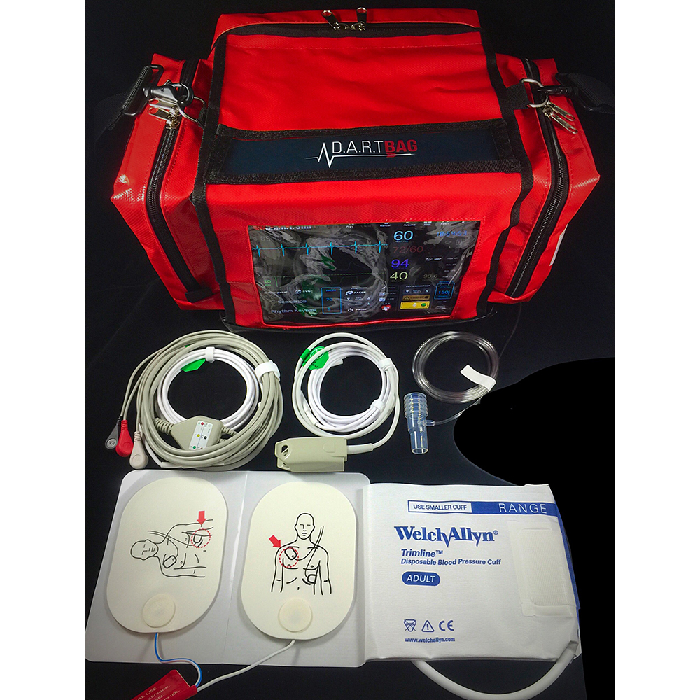 D A R T  Sim ACLS/Adult Bag - Red WorldPoint®