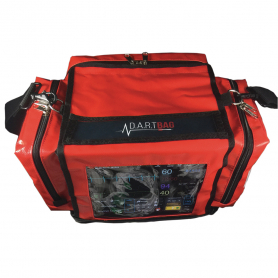 D.A.R.T. Sim PALS/Pediatric Bag - Red