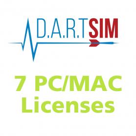 D.A.R.T. Sim ECG PC/MAC License - 7 Pack