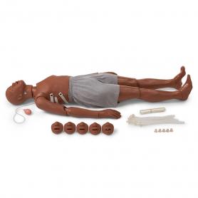 Simulaids Full Body African-American CPR/Trauma Manikin