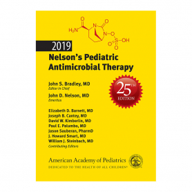 AAP 2019 Nelson's Pediatric Antimicrobial Therapy, 25th Edition
