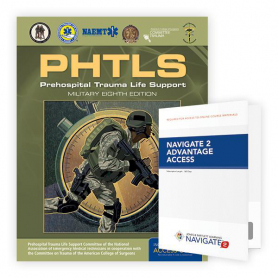 NAEMT® PHTLS (Military Edition) eBook and Interactive Tools Access