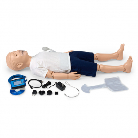 Gaumard® 5-Year-Old CPR and Trauma Care Simulator with OMNI® Code Blue® Pack
