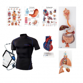 Cardionics Intro to Wearable Auscultation Kit