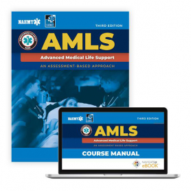 NAEMT® AMLS: Advanced Medical Life Support Textbook, 3rd Edition and Advantage Access