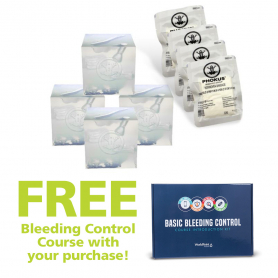Phokus Wound Cube™ Gen2 4 Pack with FREE Bleeding Control Course