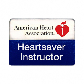 AHA Heartsaver® Instructor Lapel Pin