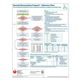 AAP NRP® Wall Chart, 7th Edition