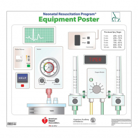 AAP NRP® Equipment Poster, 7th Edition