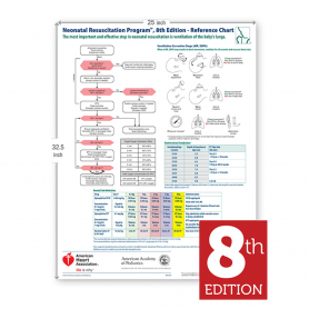 AAP NRP® Wall Chart, 8th Edition