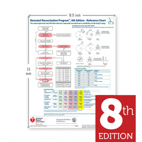 AAP NRP® Code Cart Card, 8th Edition