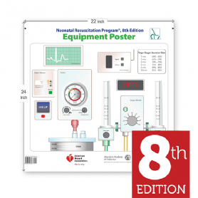 AAP NRP® Equipment Poster, 8th Edition