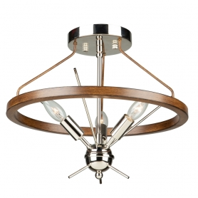 ABBEY 3 LT  SEMI FLUSH