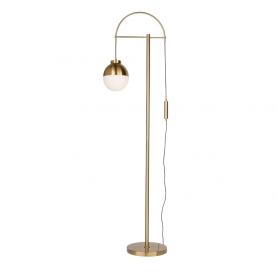 CORTINA BRASS FLOOR LAMP