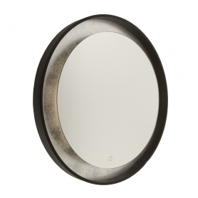 REFLECTIONS ROUND METAL MIRROR