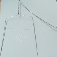 WING TRAP WIRE, 25/CS