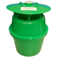 BUCKET TRAP, GREEN, 3/CS