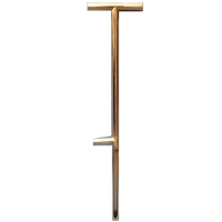 "OAKFIELD SOIL PROBE, 36"", W/ STEP"