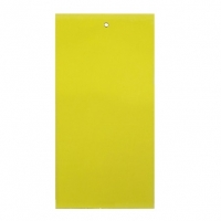 "OLSON STICKY STRIPS, YELLOW, 6"" x 12"", 125/CS"