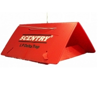 SCENTRY LPD TRAPS, RED, 100/CS