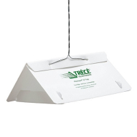 TRECE PHEROCON VI DELTA TRAP CLEAN-BRAKE, UNAS. WHITE, 25/CS