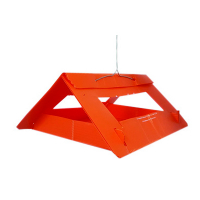 TRÉCÉ PHEROCON VI DELTA MODIFIED TRAP, ORANGE, 25/CS