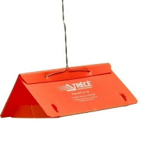 TRÉCÉ PHEROCON VI DELTA TRAP, UNASSEMBLED ORANGE, 25/CS