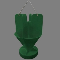 TRECE JAPANESE BEETLE(JB) TRAP TOP, GREEN, 2/CS