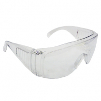 Safety Glasses Clear Standard Arms (1pr)