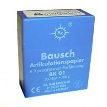 Bausch Articulating Paper BK01 Blue 200 microns (300 Strips)