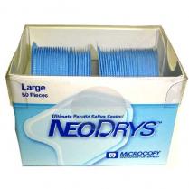 Neo Drys Saliva Absorption Pads Blue Large (50pk)