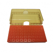 Bur Butler Original Orange Base with Lid (Holds 60)