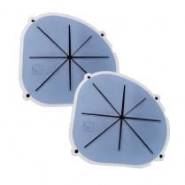 MicroCab+ Rubber Handguards Replacement Pair