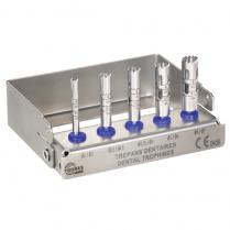 Trephine Implant Drill Kit (5 sizes)