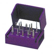 Inlay Onlay 12 Bur Kit & Block