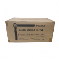 Syringe Sleeves 24cm x 6cm Carton of 18,000 36 x 500pk