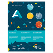 Art Alternatives White Paper Palette 9 x 12