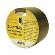 """Art Alternatives Silver Duct Tape 2"""" 10 yards"""
