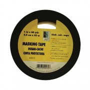 "Art Alternatives Black Masking Tape 3/4"" x 60 Yards"