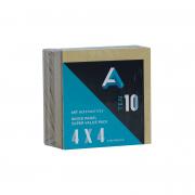 Art Alternatives Wood Panel Super Value 10 Pack 4x4