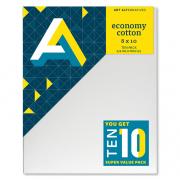 "Economy Cotton Canvas 8 x 10 10 Pack 5/8"" profile"