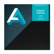 Art Alternatives Black Studio Canvas 4 x 4 Case of 5