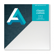 Classic Cotton Gallery Canvas 4 x 4 Case of 10
