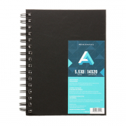 Art AlternativesWirebound Perforated Page Sketchbook 5.5 x 8