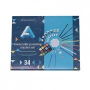 Art Alternatives 34 Piece Watercolor Starter Set
