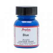 Angelus Leather Paint Blue 1oz