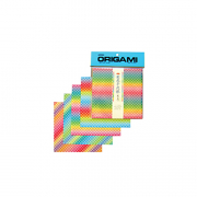 Origami Dream Rainbow w/Dots 5.875in