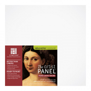 """Ampersand 1.5"""" Cradled Primed Smooth Artist Panel 6 x 6"""