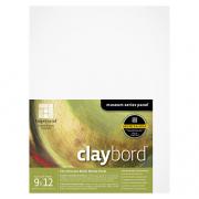 Ampersand Flat Claybord Artist Panel 9 x 12