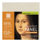 Ampersand Unprimed Basswood Cradled Artist Panel 4 x 4